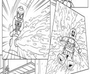 Print lego marvel super heros dc comics coloring pages