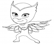Owlette coloring pages