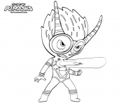 Printable PJ Maskss Exclusive Villain Firefly coloring pages