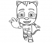 PJ Maskss Catboy Connor coloring pages