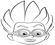 Romeo PJ Masks coloring pages