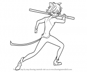 Print Miraculous Ladybug and Cat Noir Drawings coloring pages