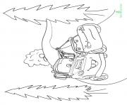 Print Cars The Lightning McQueen With Mater 16 a4 disney coloring pages