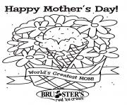 Printable Happy Mother S Day worlds greatest mom ever coloring pages