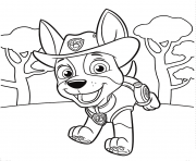 Printable Jungle Pup Tracker PAW Patrol coloring pages