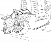 Print lightning mcqueen from cars 3 disney coloring pages