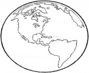 The Earth coloring pages