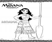 Printable Disneys Moana Princess coloring pages