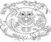 advanced bright bird animal coloring pages