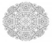 advanced mandala complex creative design