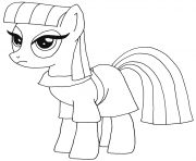 Printable maud pie my little pony coloring pages