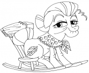 Printable granny smith my little pony coloring pages