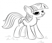 Printable princess alicorn my little pony coloring pages