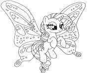 rarity pony my little pony coloring pages