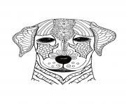 Printable I Woof You Adult hard advanced coloring pages