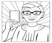 ruth bader ginsberg coloring pages