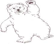 mural tsb polar baby bear by jan brett coloring pages