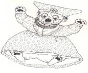 3 little dassies lindi by jan brett coloring pages