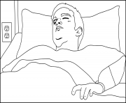 Print jesse sick from breaking bad serie coloring pages