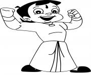 Print Super Chhota Bheem coloring pages