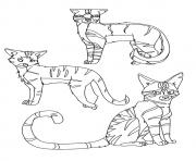a Warrior Cat Clan a4 coloring pages