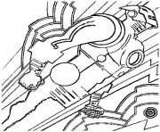 iron man 117 superheros coloring pages