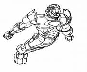 iron man 348 superheros coloring pages