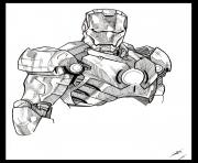 iron man 39 superheros coloring pages