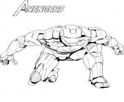 avengers iron man superheros coloring pages