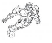 iron man 6 superheros coloring pages