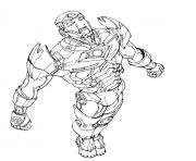 iron man 18 superheros coloring pages