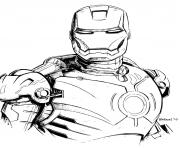 iron man 4 superheros coloring pages