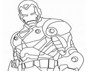 iron man 5 superheros coloring pages