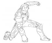 iron man superheros coloring pages
