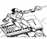 iron man tir superheros coloring pages