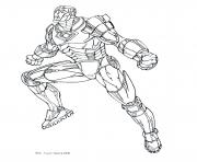 iron man 8 superheros coloring pages