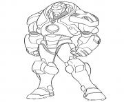 Ironman Mark 1 a4 avengers marvel coloring pages