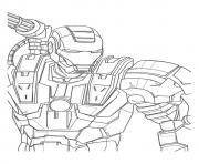 IRON MAN Coloring Pages Color Online Free Printable