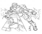 Mark 3 a4 avengers marvel coloring pages