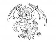 skylanders dragon city coloring pages