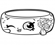 Printable Season 7 Precious Shopkin Wedding Ring Andy Bandy Shopville coloring pages