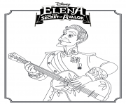 Printable Elena and the Secret of Avalor Coloring Page coloring pages
