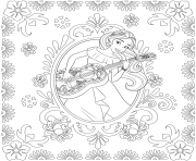 Printable Princess Elena of Avalor disney princess coloring pages
