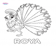 Printable Shimmer And Shine Roya coloring pages