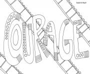 word courage coloring pages
