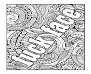 fuck face word adult coloring pages