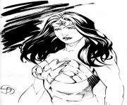 Printable wonder woman portrait tumblr dc comics coloring pages