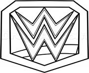 wwe championship belt official coloring pages