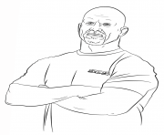 Printable wwe stone cold steve coloring page coloring pages