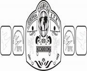 efk belt kickboxing championship belt coloring pages